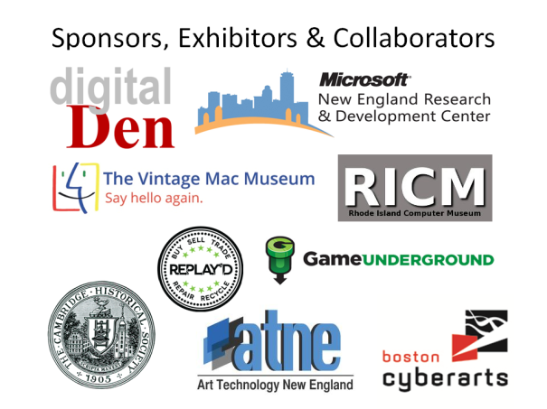 New Computer Museum's Sponsors, Collaborators and Supporters