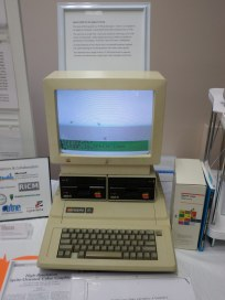 Apple IIe with LCSI's Sprite Logo