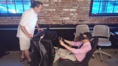 Oculus, Logitech, iRacing
