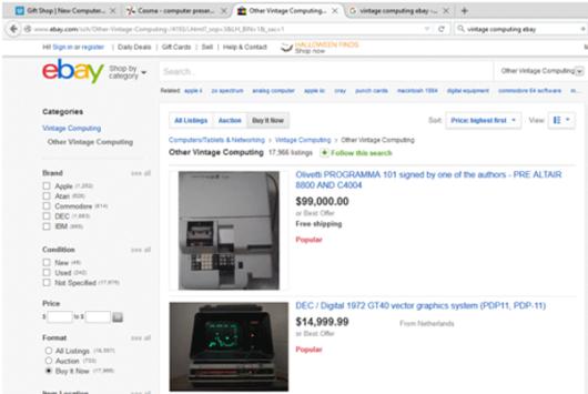 eBay Vintage Computers